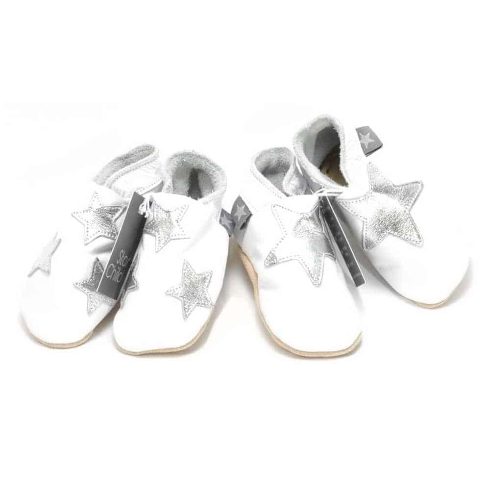 Set cadou bebelusi gemeni , 6-12 luni, Silver Stars