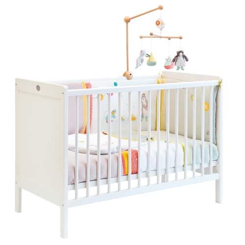721800 Patut din lemn pentru bebelusi Nuage Moulin Roty
