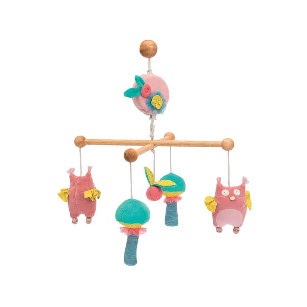 Carusel din lemn pentru bebelusi | Padurea Fermecata | LPA