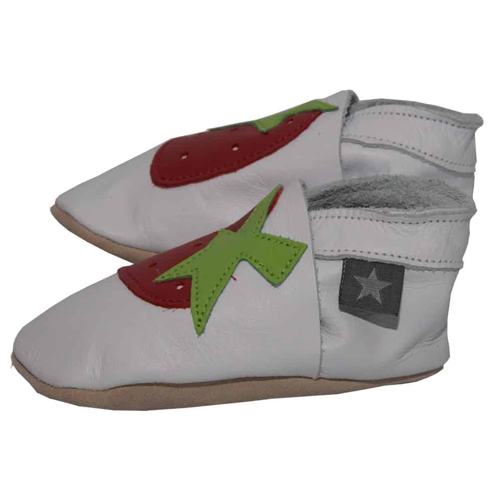 pantofiori din piele-strawberry-white-4
