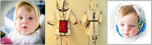 costume treaditionale pentru bebelusi