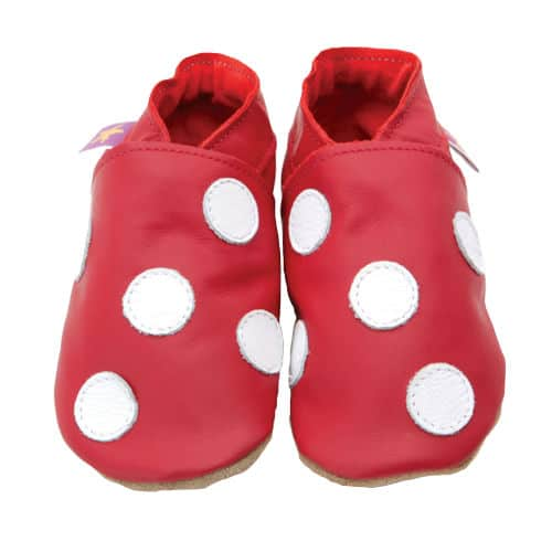 Pantofiori Polka Dot Red White