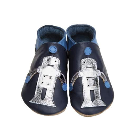 Pantofiori Robot in Navy and silver