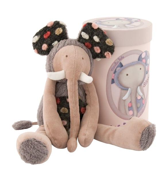 671025 Domnul Elefant - jucarie de plus , Moulin Roty