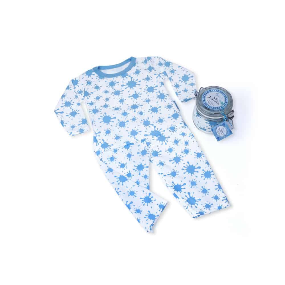 Cadou-pijama-bebelusi-Dulceata-la-borcan-albastru