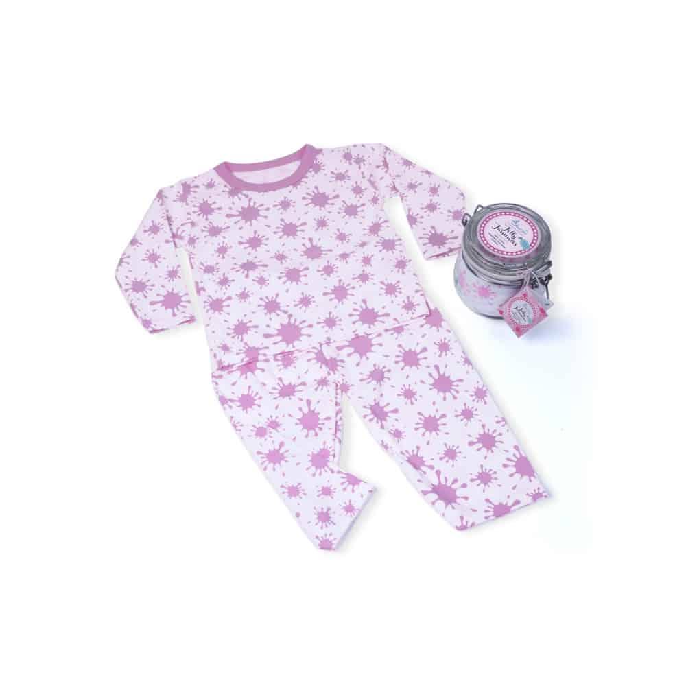 Cadou-pijama-bebelusi-Dulceata-la-borcan-roz