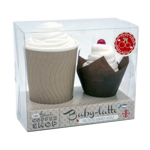 Set-cadou-bebelusi-Baby-Latte, Bluebird