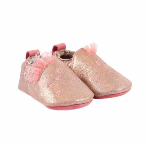 662524 Pantofiori din piele Rose, Moulin Roty