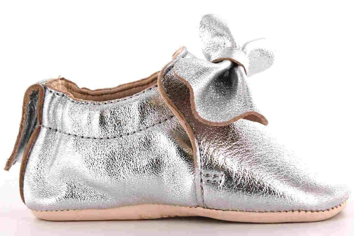 Pantofiori din piele BLUMOO NOEUD