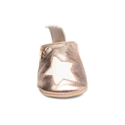 1E065411J Pantofiori din piele BLUMOO ETOILE roz, Easy Peasy