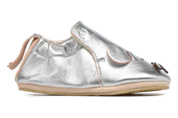 Pantofiori din piele BLUBLU SOURIS, Easy Peasy