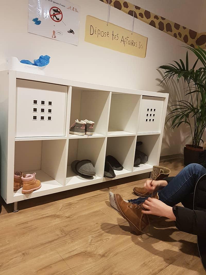 Fara pantofi la pediatru