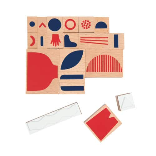 713305_Joc de creativitate cu stampile-20 piese