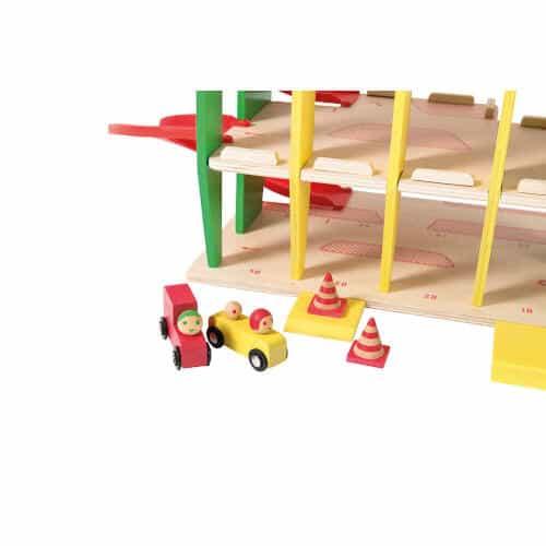 720403 Garaj masinute din lemn