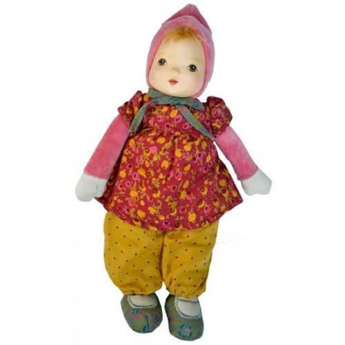 Papusa pentru copii, Mica domnisoara roz Nilka