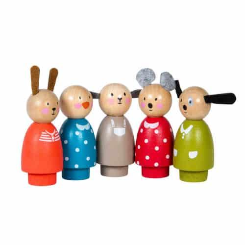 Personaje Casuta din lemn pentru papusi La Grande Famille 632241