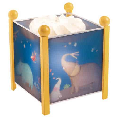 658210 Veioza pentru camera copilului Domnul Elefant