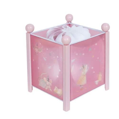 Veioza pentru camera copii, Soricel, Roz