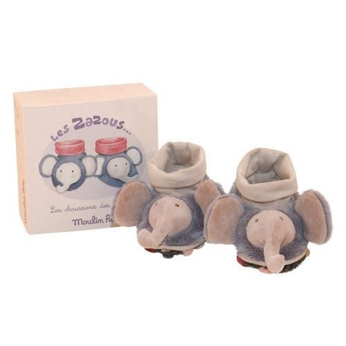 671010 Botosei Domnul Elefant, 12 cm, Les Zazous, Moulin Roty