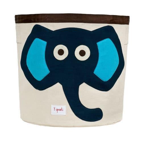 Cos De Jucarii, Elefantul Albastru, 3 Sprouts