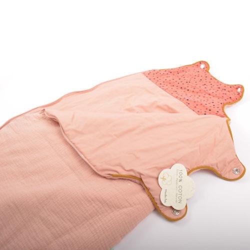 Sac De Dormit Pentru Bebelusi , Confetti Roz , Moulin Roty 2