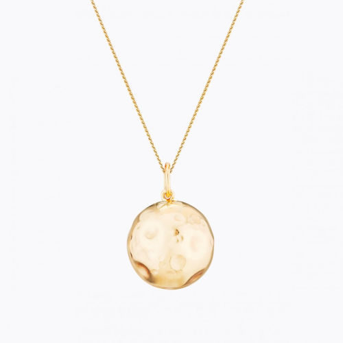 Colier Bola placat aur, MOON Gold, Ilado Paris