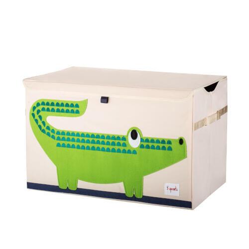 Cutie Depozitare Jucariile Bebelusului , Crocodil, 3 Sprouts