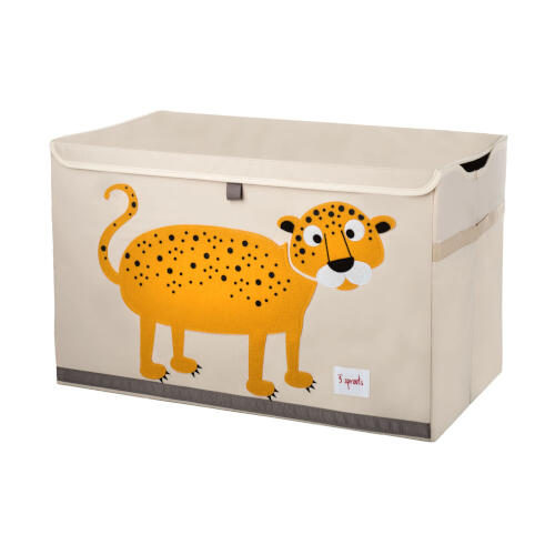 Cutie Organizare Si Depozitare Jucarii, Leopard, 3 Sprouts
