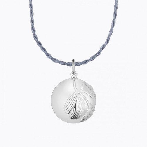 Bola-Colier pentru femei insarcinate ,Ginkgo argint, Ilado Paris