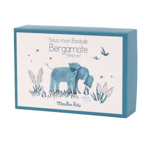Botosei bebelusi , Domnul Elefant BERGAMOTE, colectia Baobab , Moulin Roty