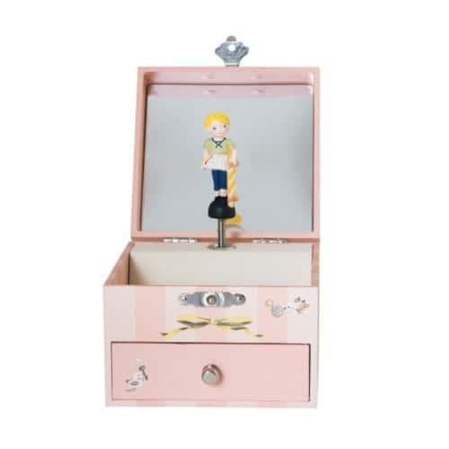 Cutiuta muzicala pentru bijuterii, Les Parisiennes, Moulin Roty vedere din fata