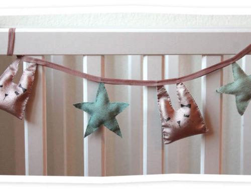 Cum sa faci decoratiuni pentru camera bebelusului, tip ghirlanda: ideea noastra