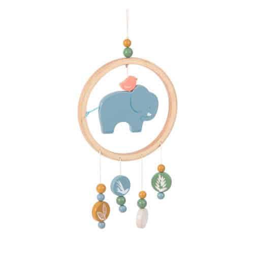 Decoratiune camera bebe, Talisman vise, Domnul Elefant Bergamote