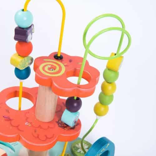 Joc dexteritate , labirint cu bile si personaje , In Jungla, Moulin Roty