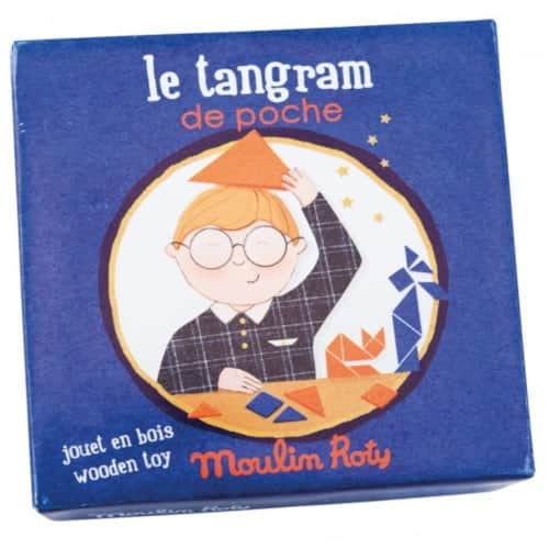 Joc educativ Tangram, Moulin Roty