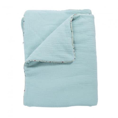 Paturica Bebelusi , Bleu,90x69cm, Les JolieTrop Beaux, Moulin Roty