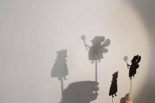 Teatru de umbre , Jucarie de rol pentru copii