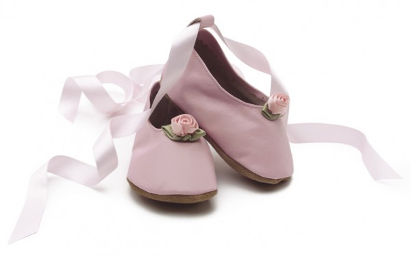 Pantofiori pentru bebeluse, 6-12 luni, roz, Baby Ballerina